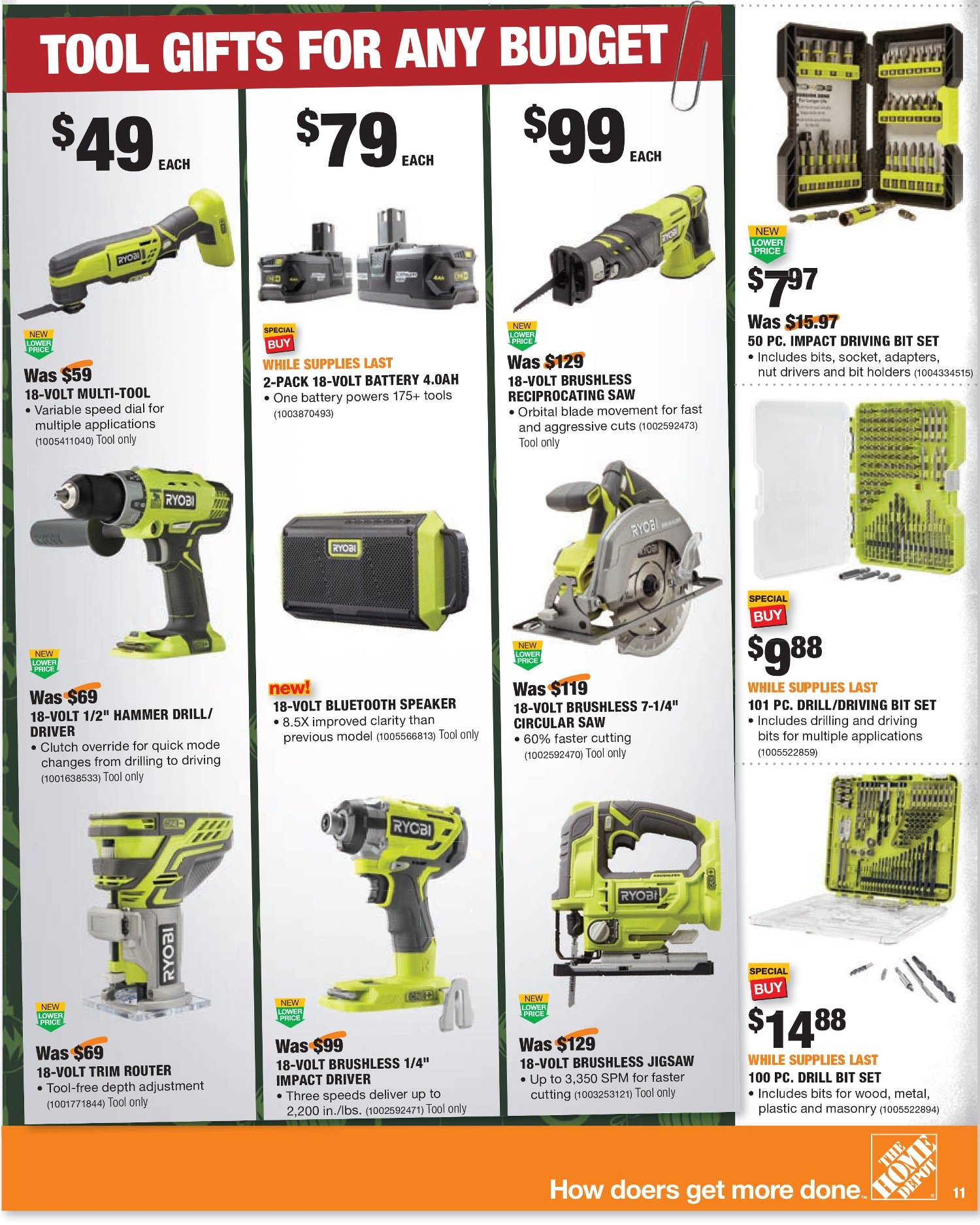 Home Depot Black Friday 2020 Page 22