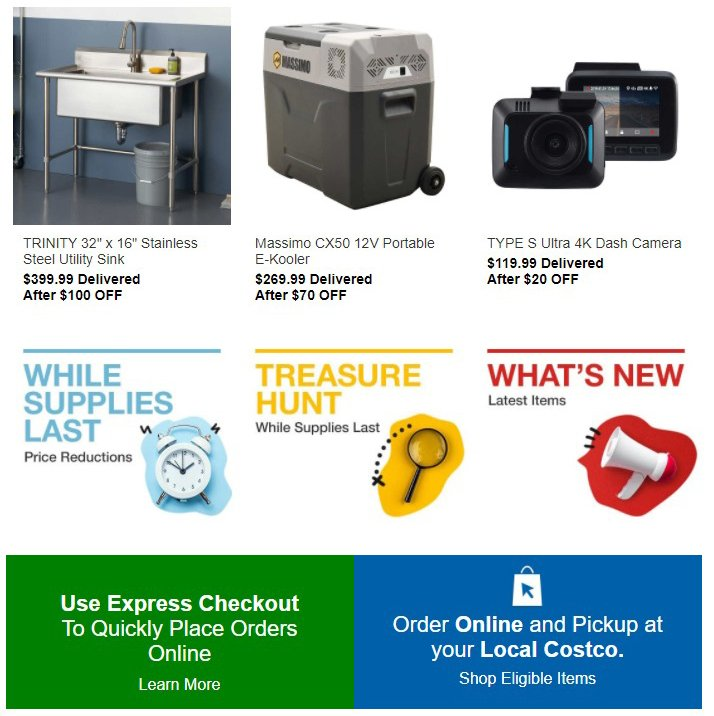 Costco Pre-Black Friday Online Only Sale 2020 Page 22
