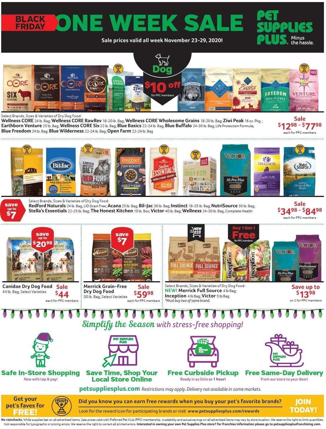 Pet Supplies Plus Black Friday 2020 Page 2