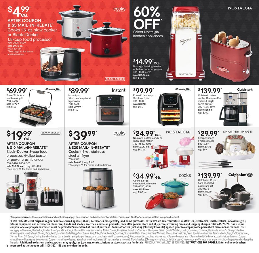 JCPenney Black Friday 2020 Page 2