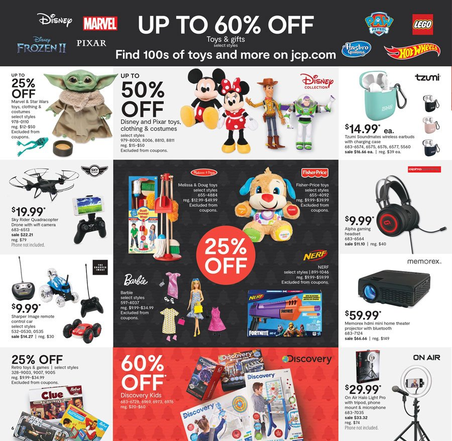 JCPenney Black Friday 2020 Page 6