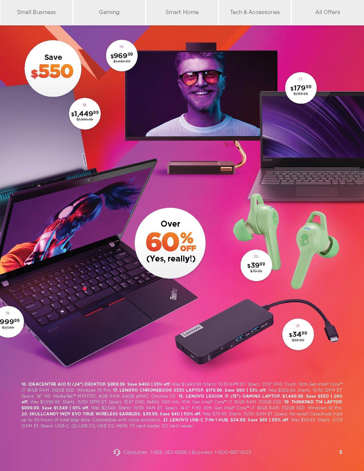 Lenovo Cyber Monday 2020 Page 2