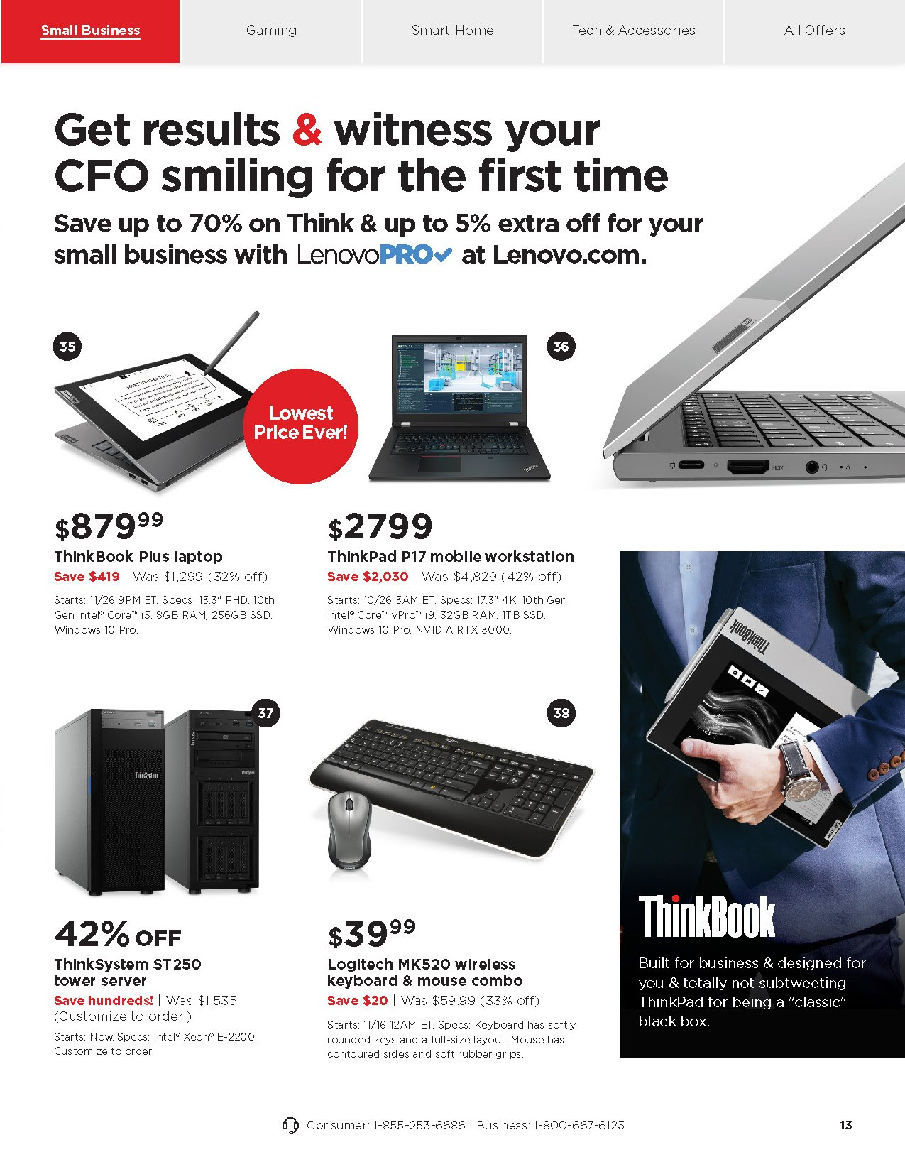 Lenovo Black Friday 2020 Page 11