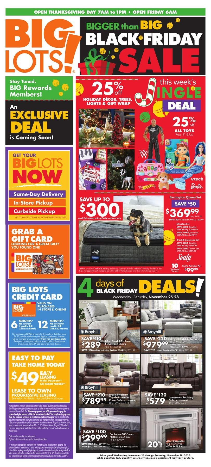 Big Lots Black Friday 2020 Page 13