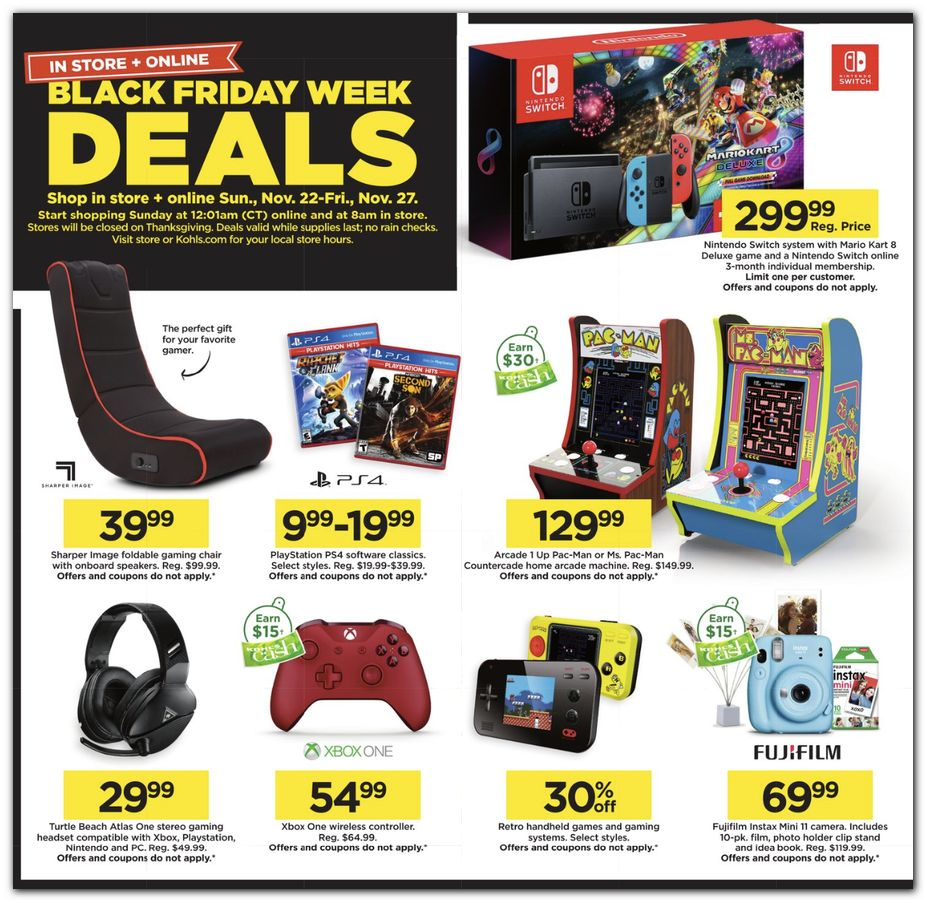 Kohl's Black Friday 2020 Page 4