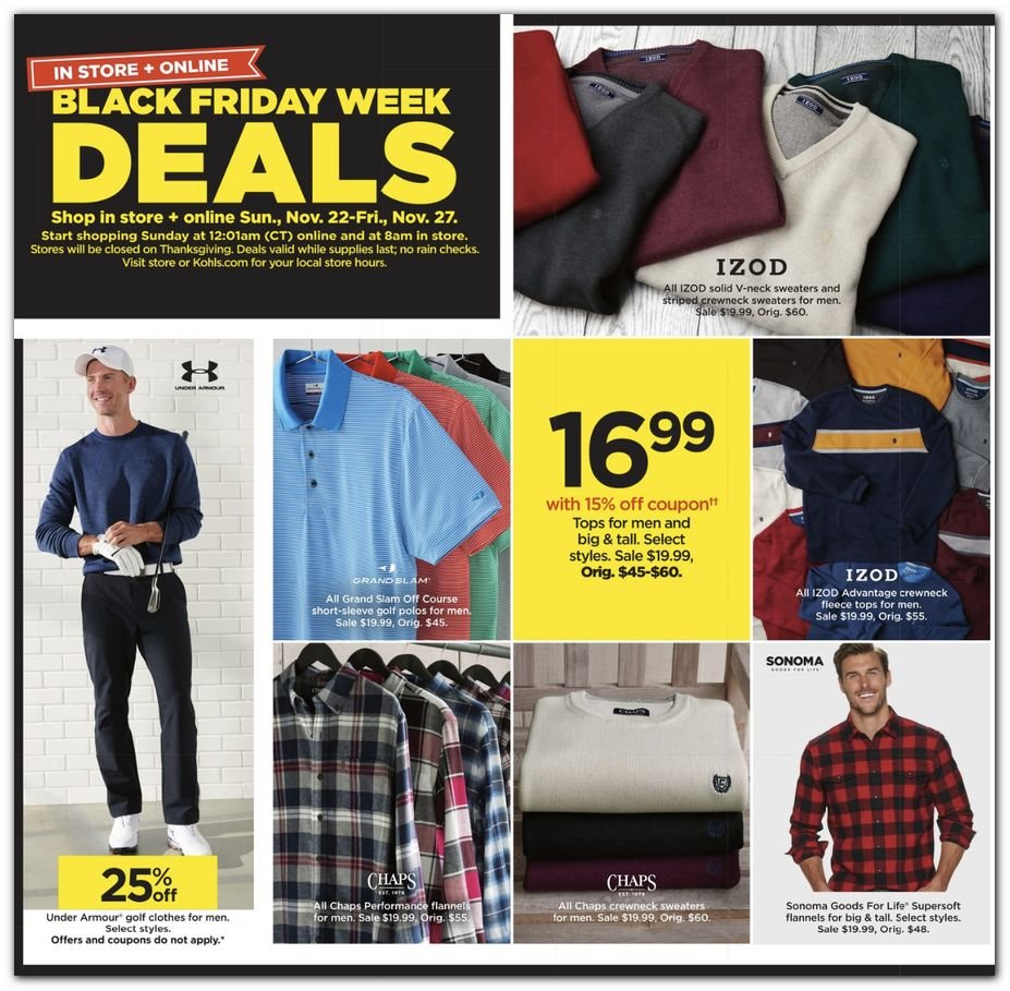 Kohl's Black Friday 2020 Page 34