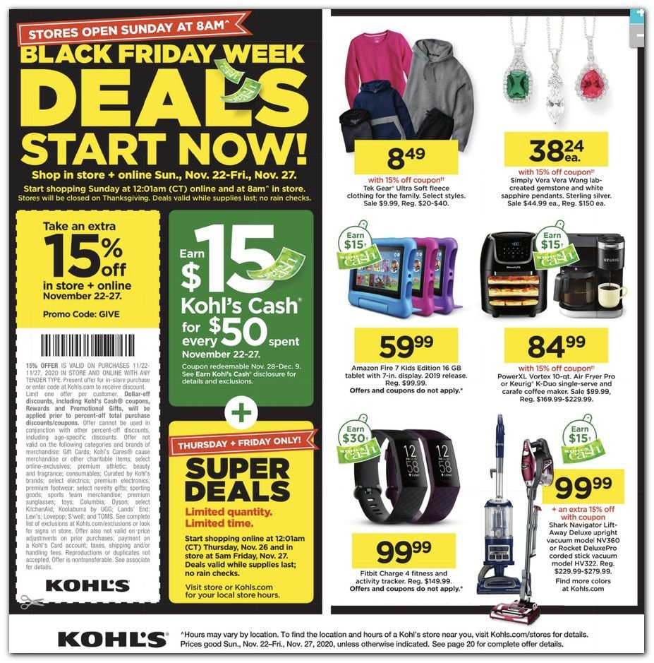 Kohl's Black Friday 2020 Page 40