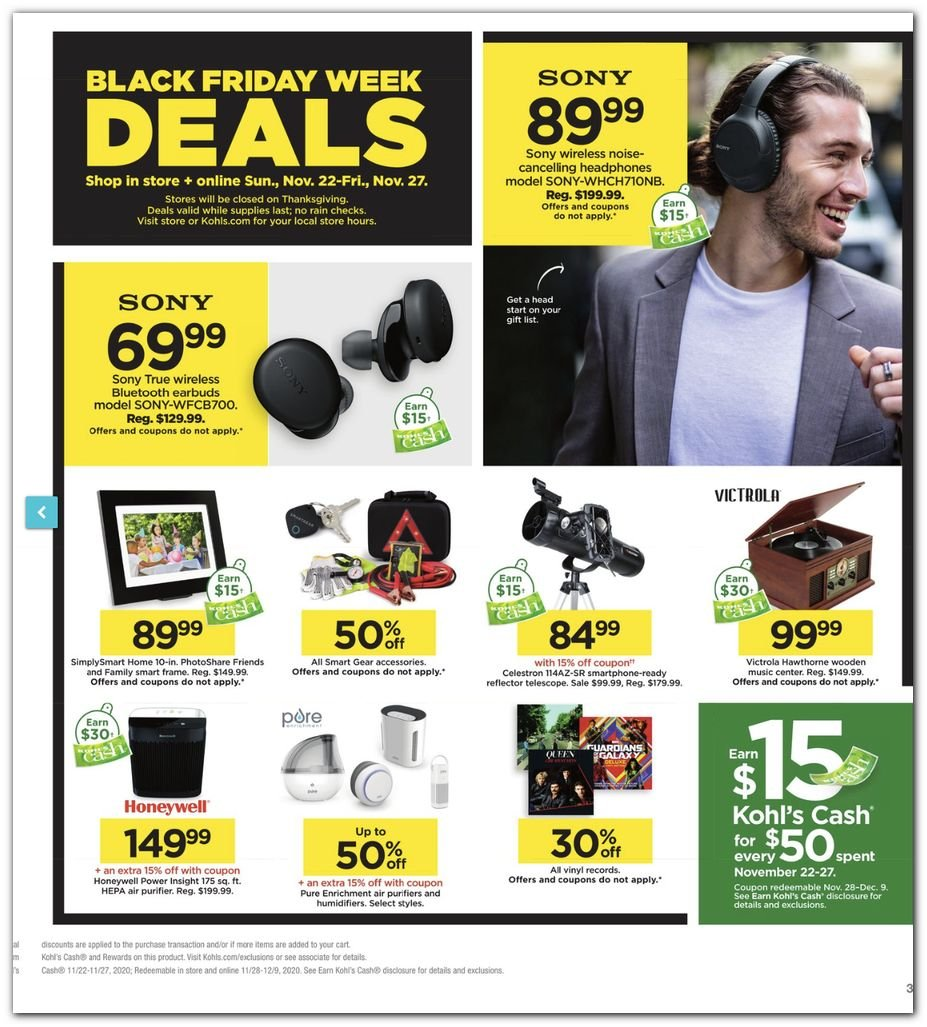 Kohl's Black Friday Super Deals 2020 Page 3