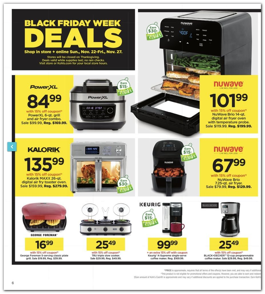 Kohl's Black Friday Super Deals 2020 Page 6