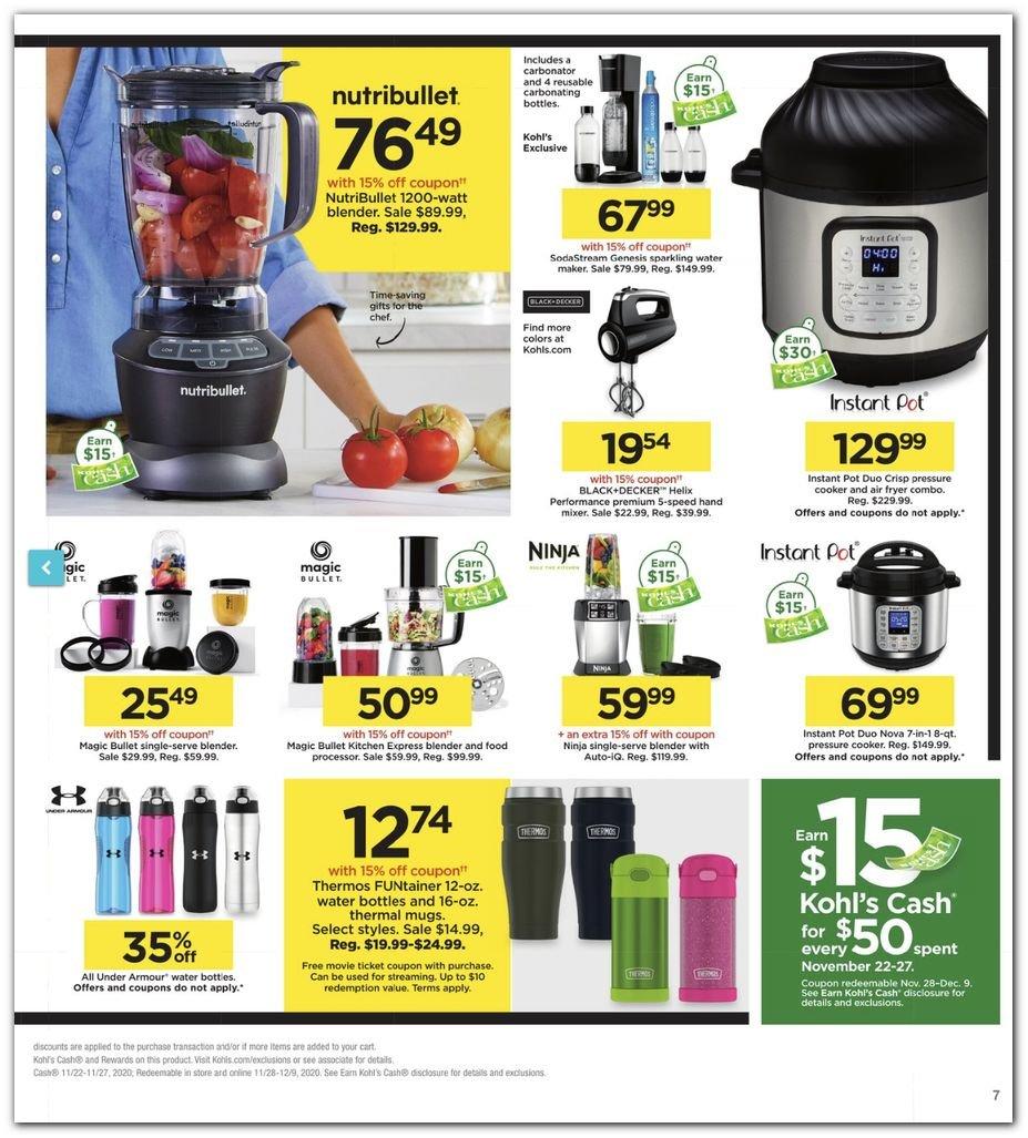 Kohl's Black Friday Super Deals 2020 Page 7
