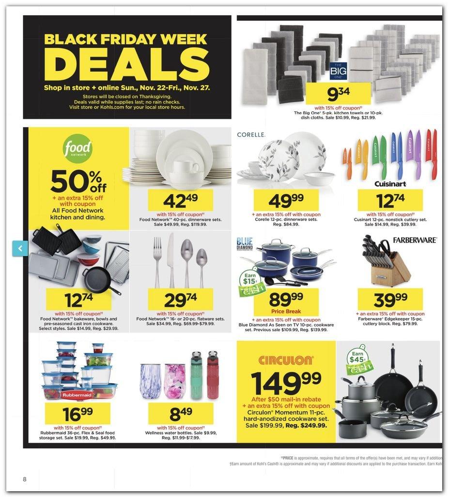 Kohl's Black Friday Super Deals 2020 Page 8