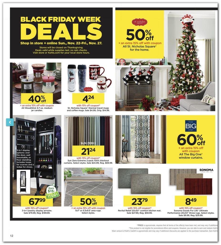 Kohl's Black Friday Super Deals 2020 Page 12