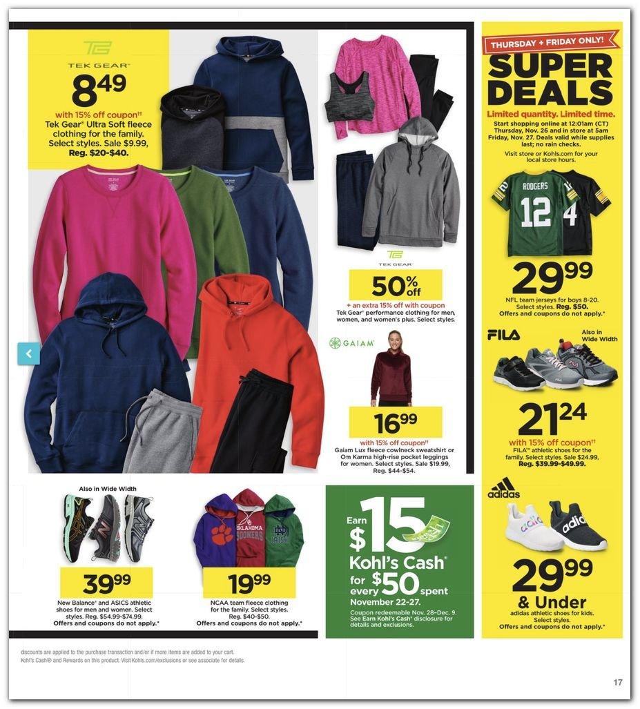 Kohl's Black Friday Super Deals 2020 Page 17