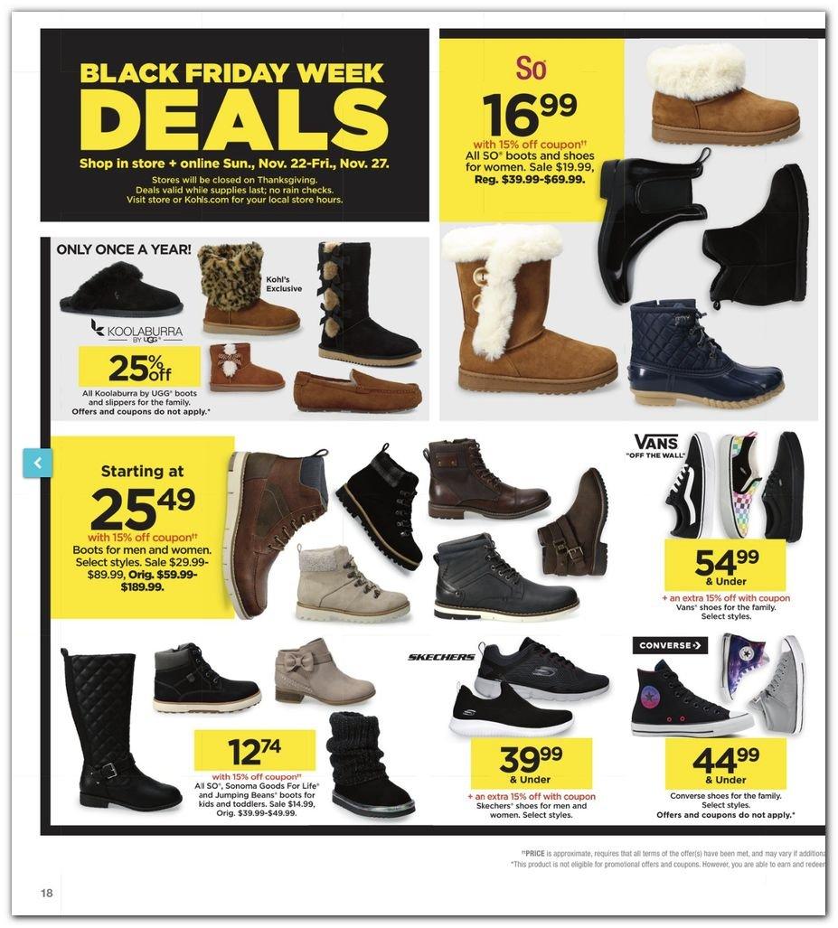Kohl's Black Friday Super Deals 2020 Page 18