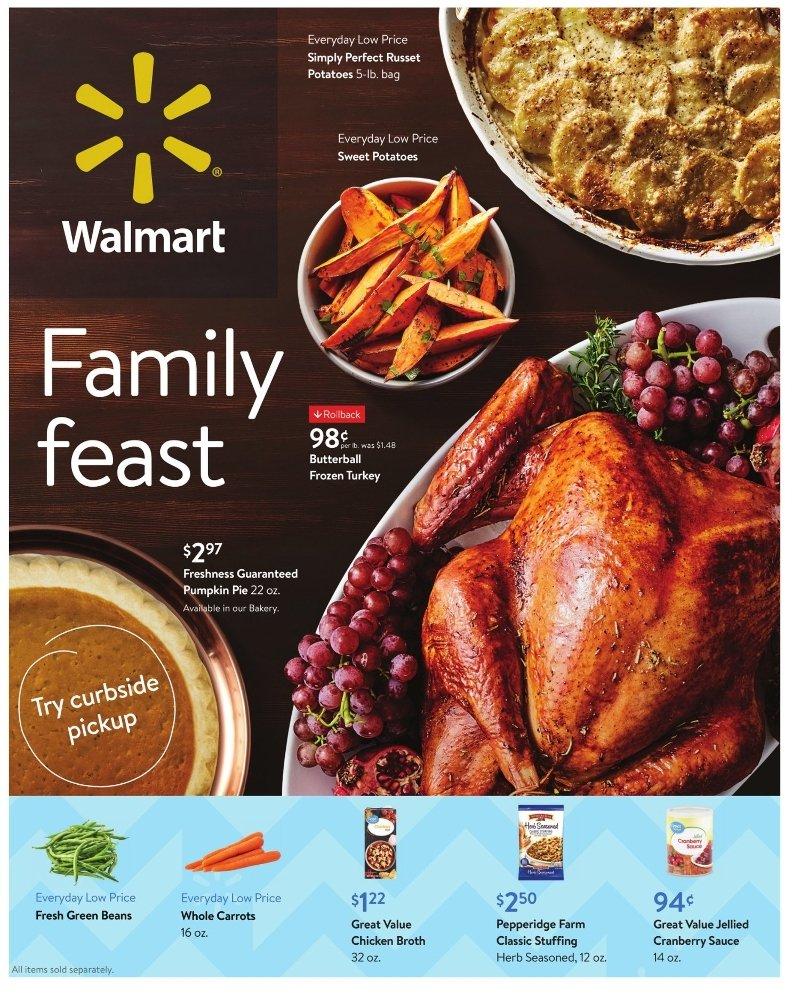 Walmart Weekly November 4 - 24, 2020 Page 1