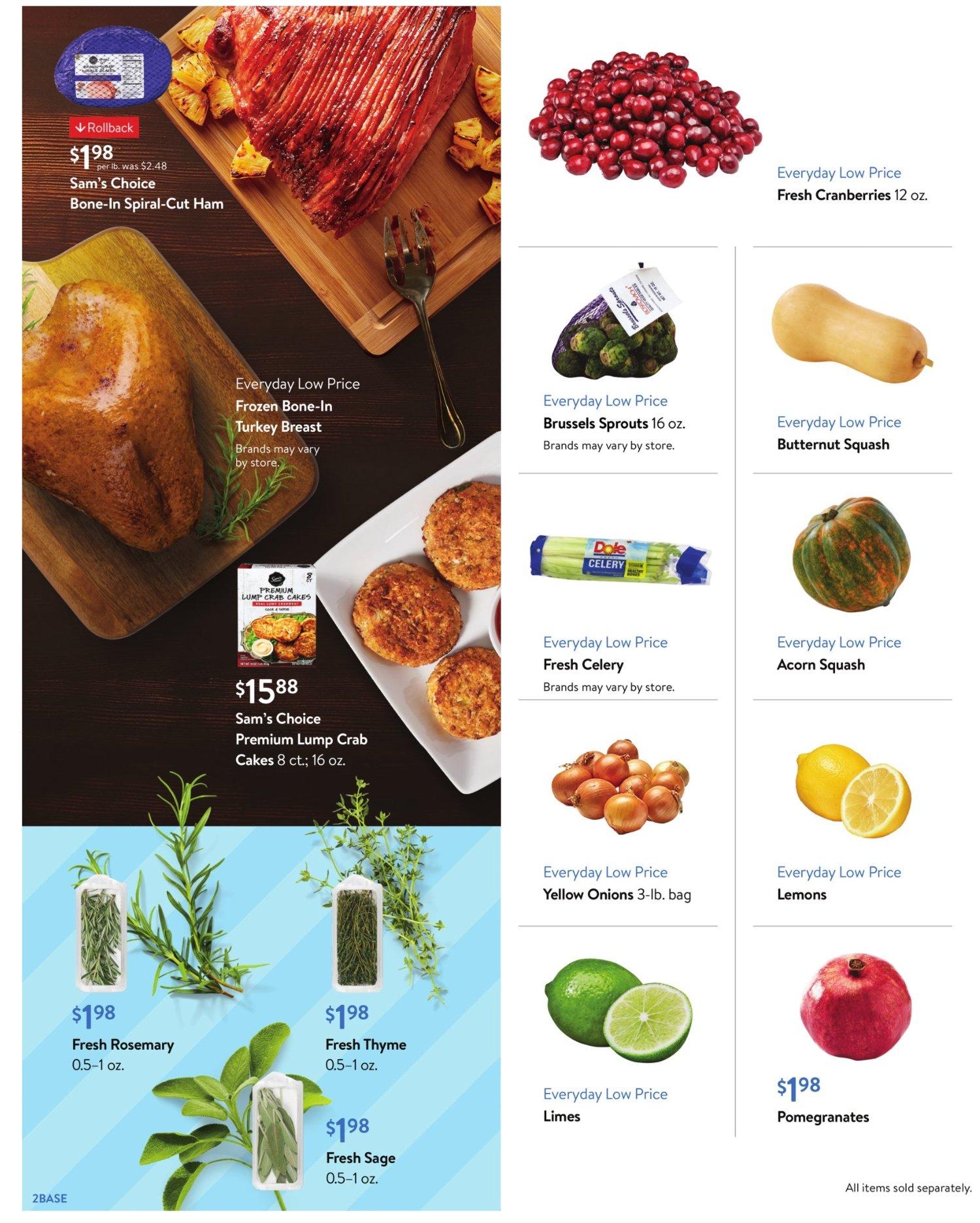 Walmart Weekly November 4 - 24, 2020 Page 2