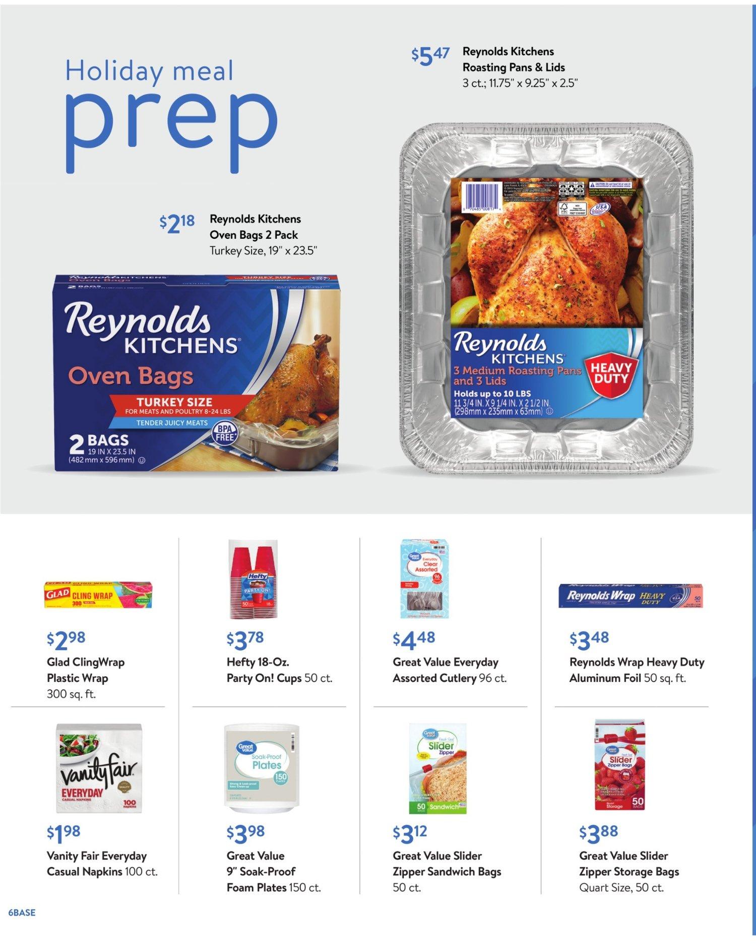 Walmart Weekly November 4 - 24, 2020 Page 6