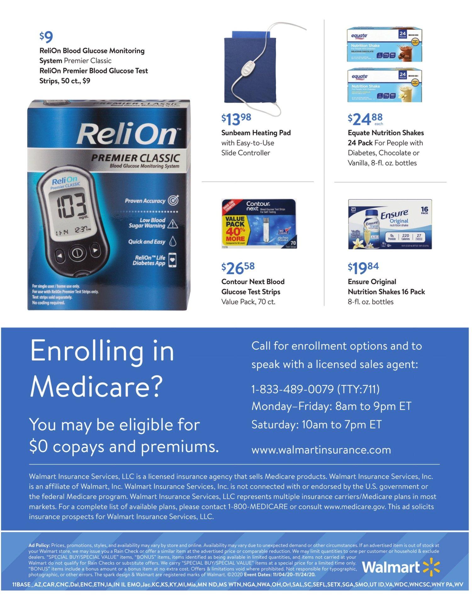 Walmart Weekly November 4 - 24, 2020 Page 11