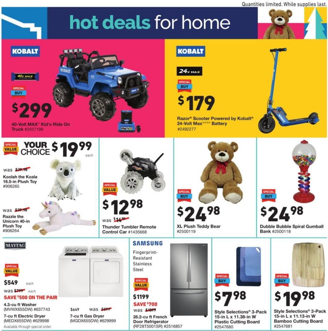 Lowe's Black Friday and Cyber Monday 2020 Page 3