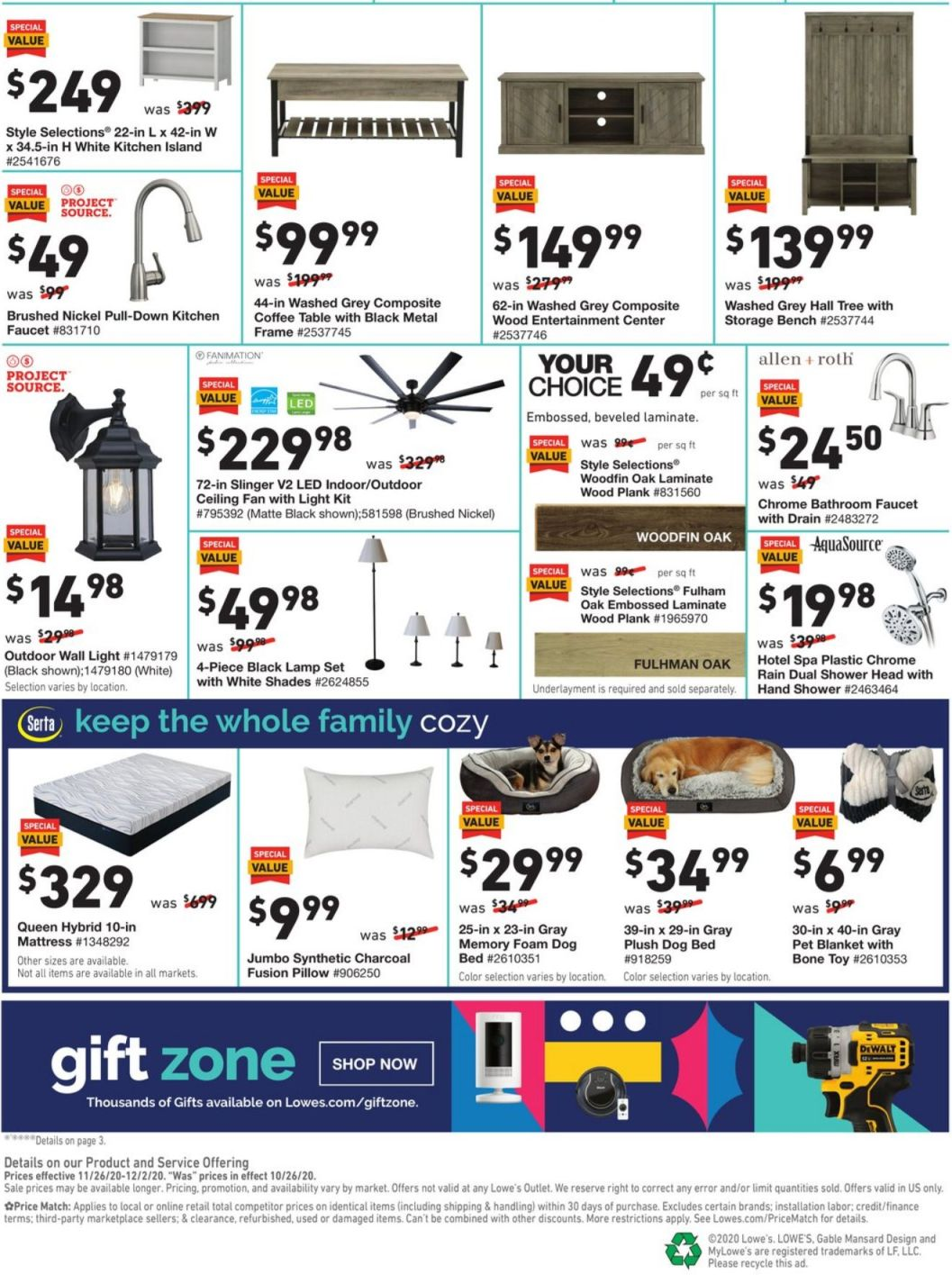 Lowe's Black Friday and Cyber Monday 2020 Page 4