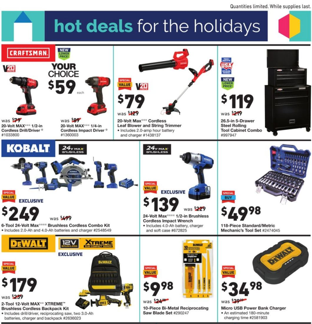Lowe's Black Friday and Cyber Monday 2020 Page 5