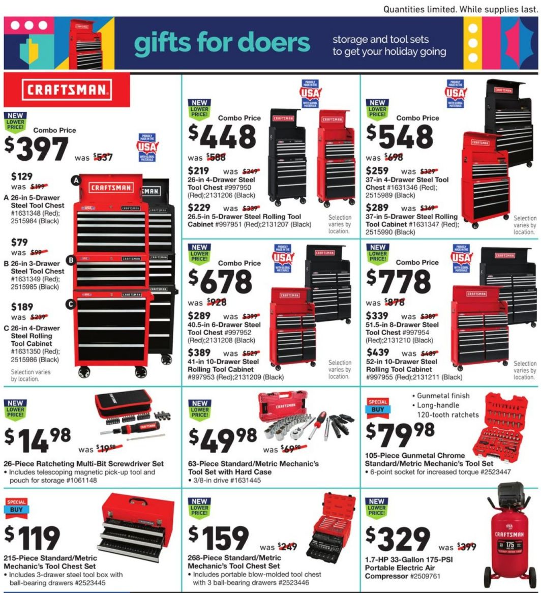 Lowe's Black Friday and Cyber Monday 2020 Page 13