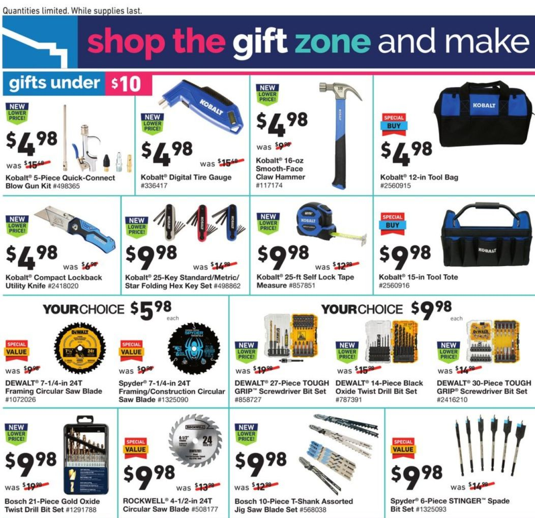 Lowe's Black Friday and Cyber Monday 2020 Page 15