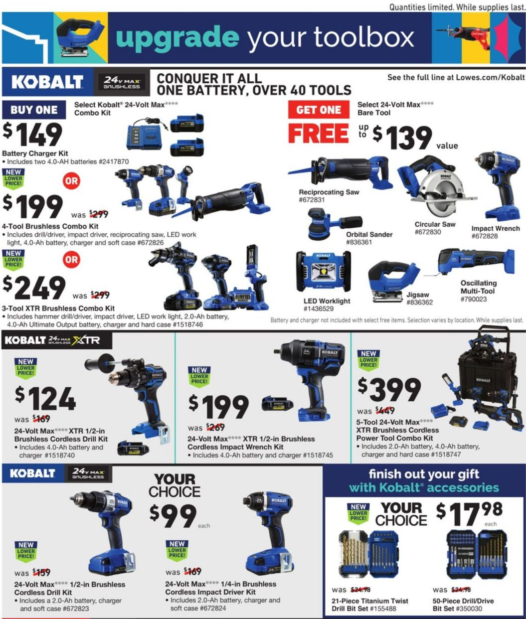 Lowe's Black Friday and Cyber Monday 2020 Page 21