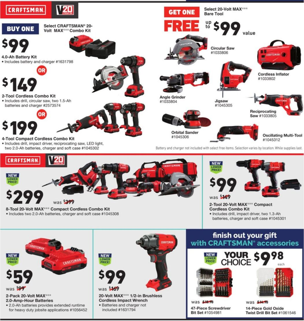 Lowe's Black Friday and Cyber Monday 2020 Page 22