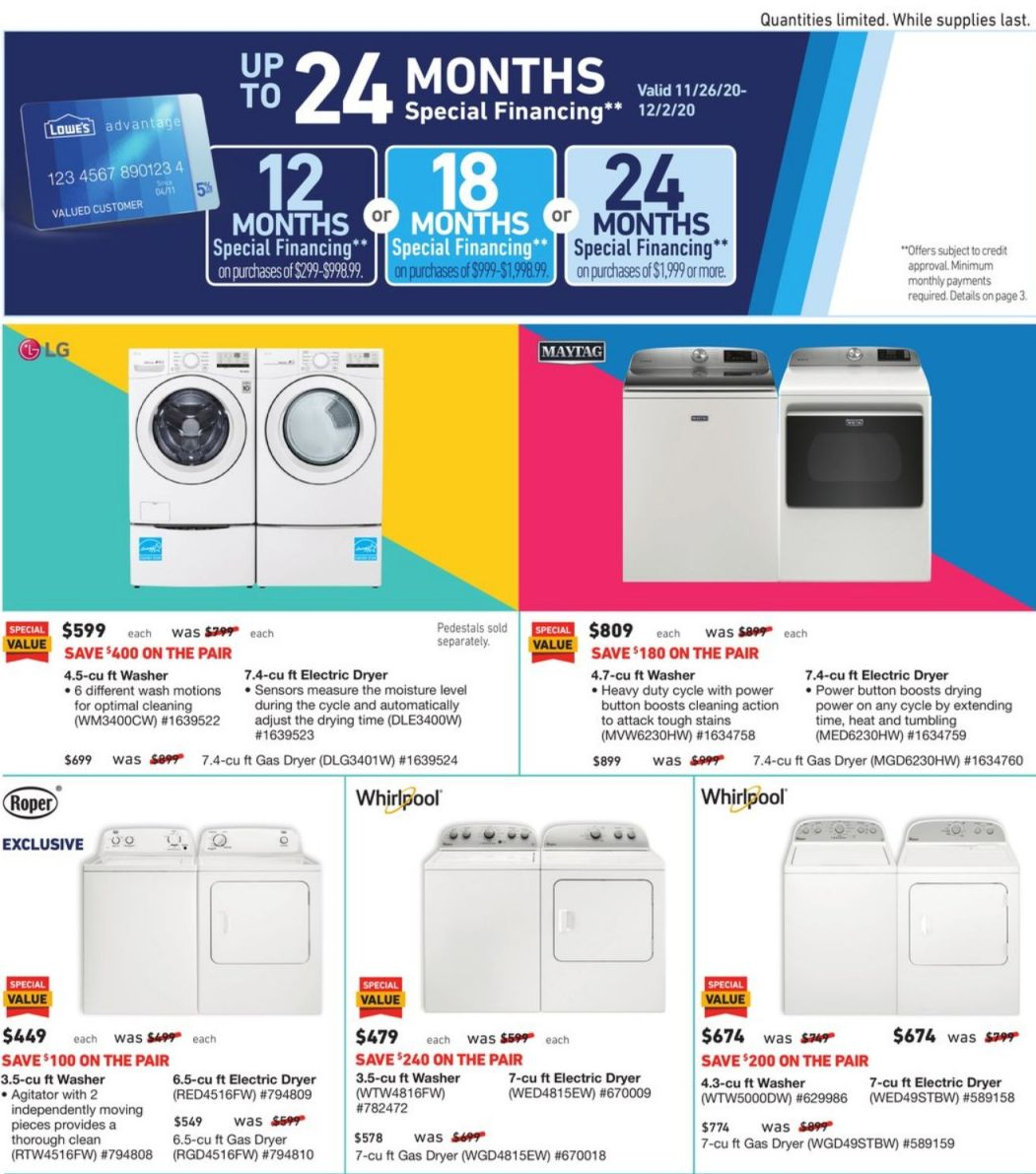 Lowe's Black Friday and Cyber Monday 2020 Page 25