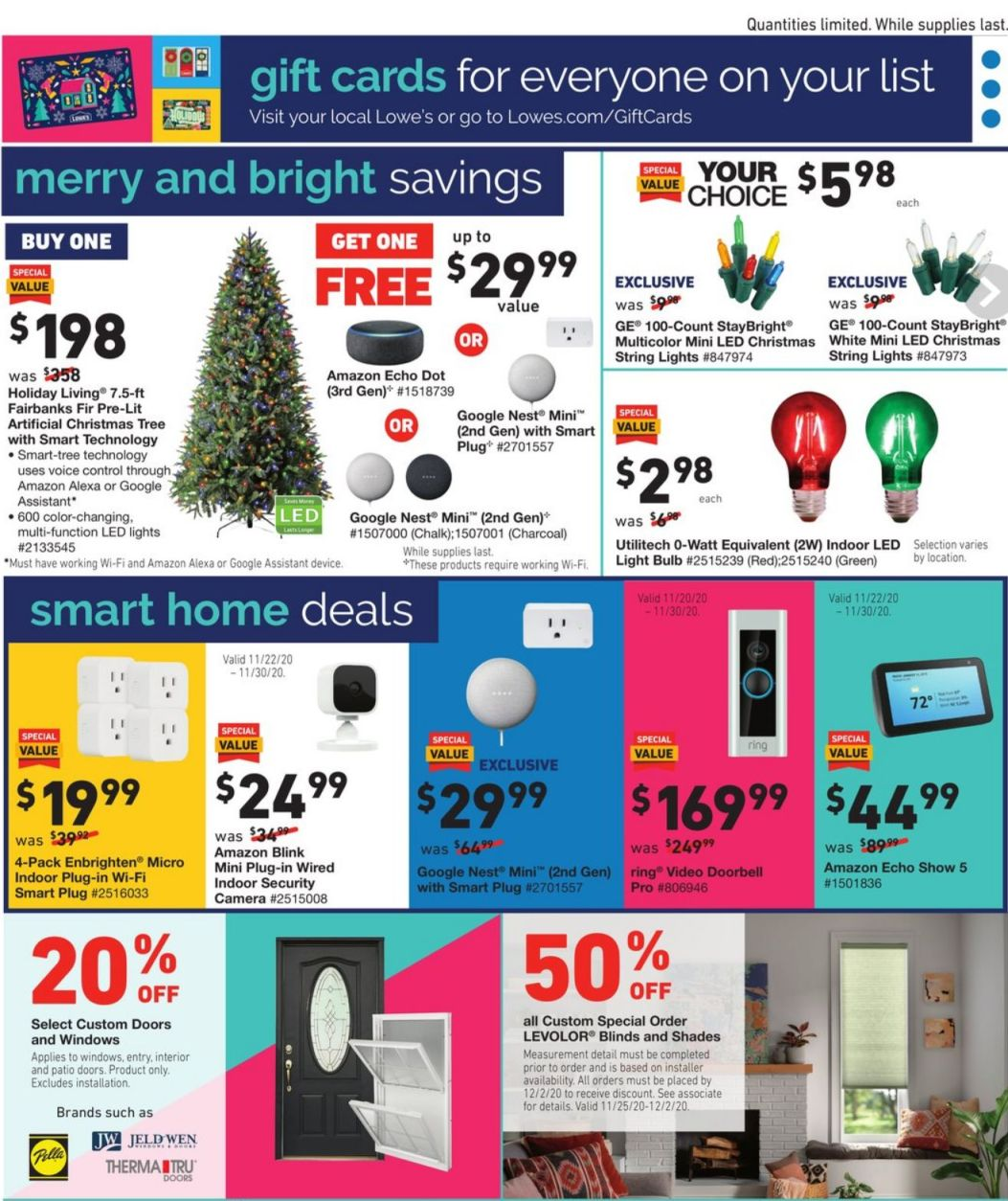 Lowe's Black Friday and Cyber Monday 2020 Page 27