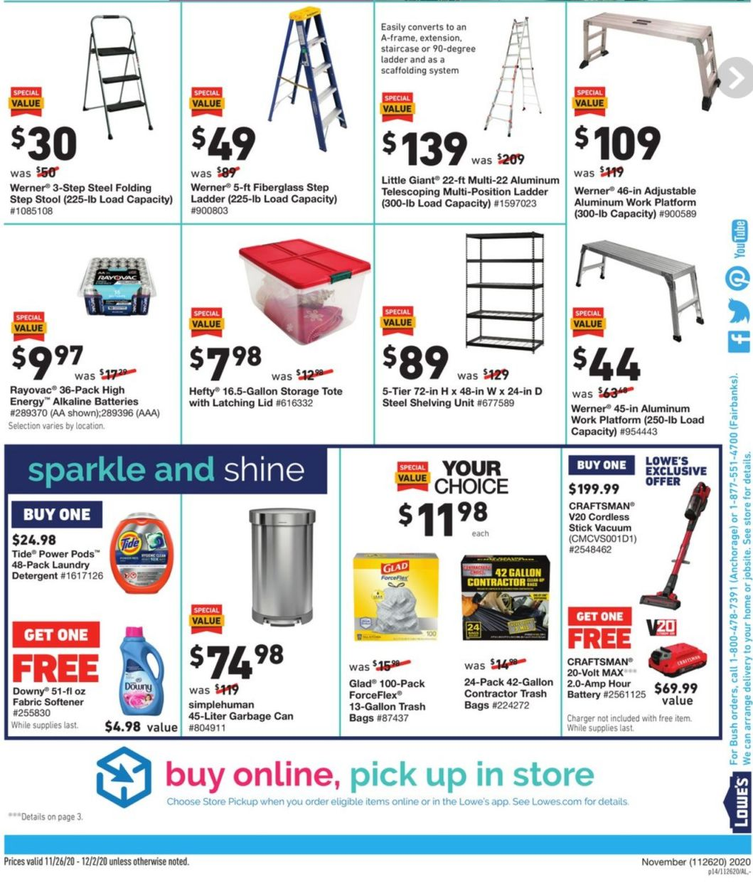 Lowe's Black Friday and Cyber Monday 2020 Page 28