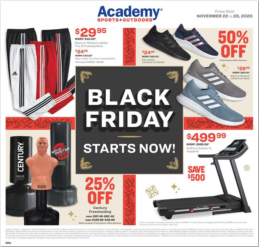 Academy Sports + Outdoors Black Friday 2020 Page 28