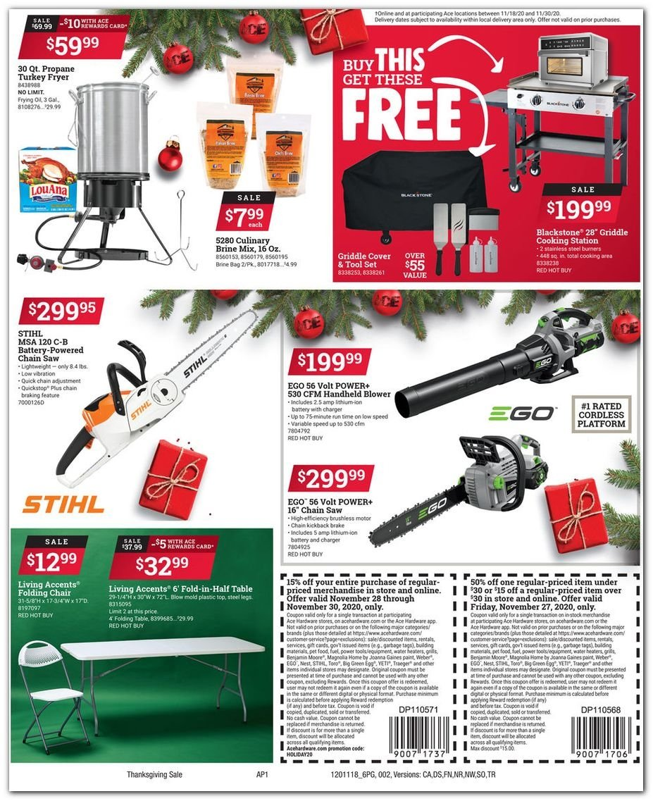 Ace Hardware Black Friday 2020 Page 4