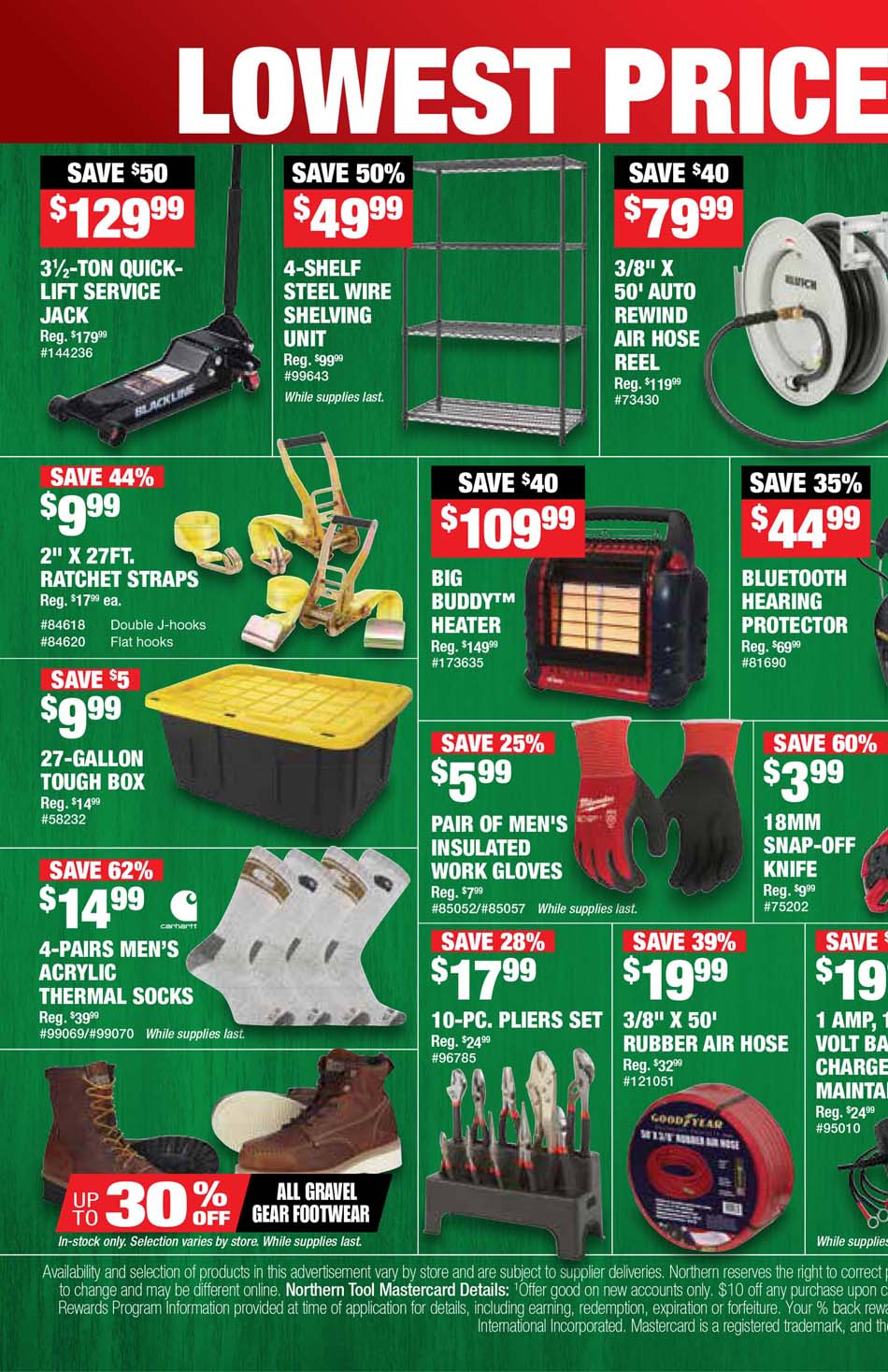 Northern Tool Black Friday 2020 Page 2