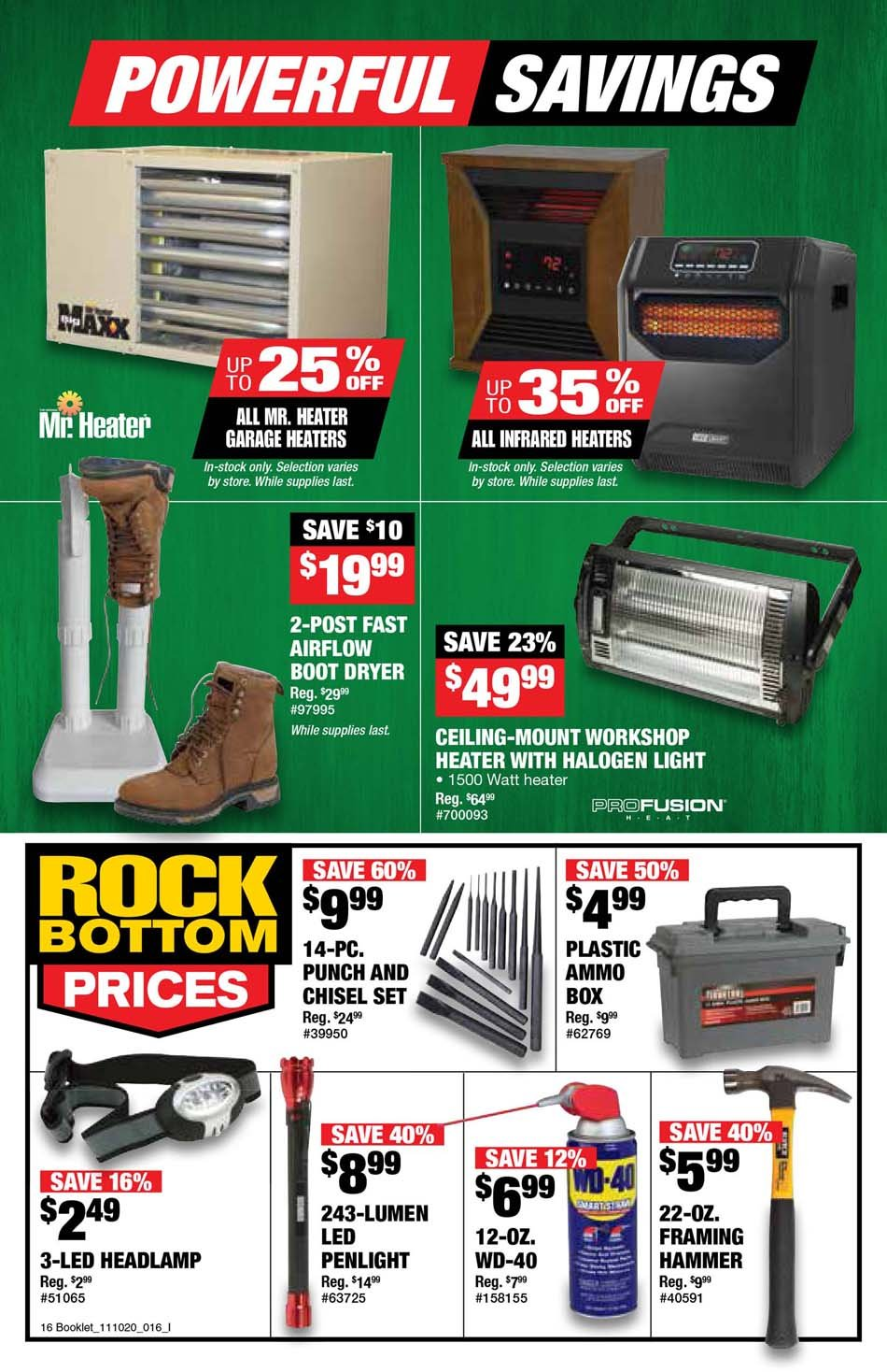 Northern Tool Black Friday 2020 Page 8