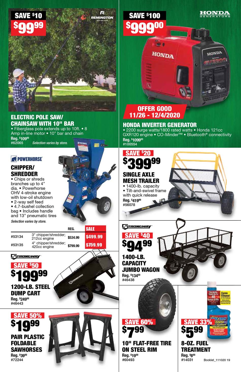 Northern Tool Black Friday 2020 Page 11
