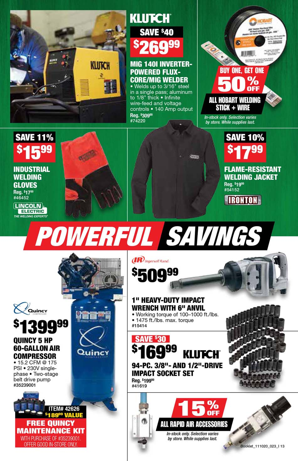 Northern Tool Black Friday 2020 Page 15