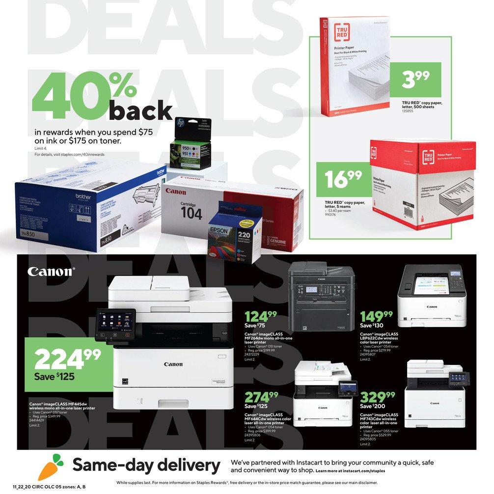 Staples Black Friday 2020 Page 5