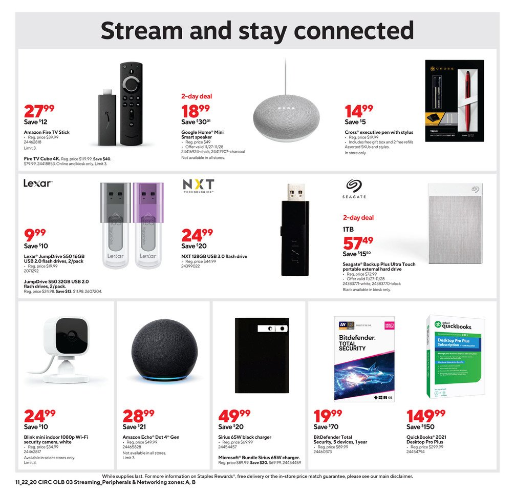 Staples Black Friday 2020 Page 12