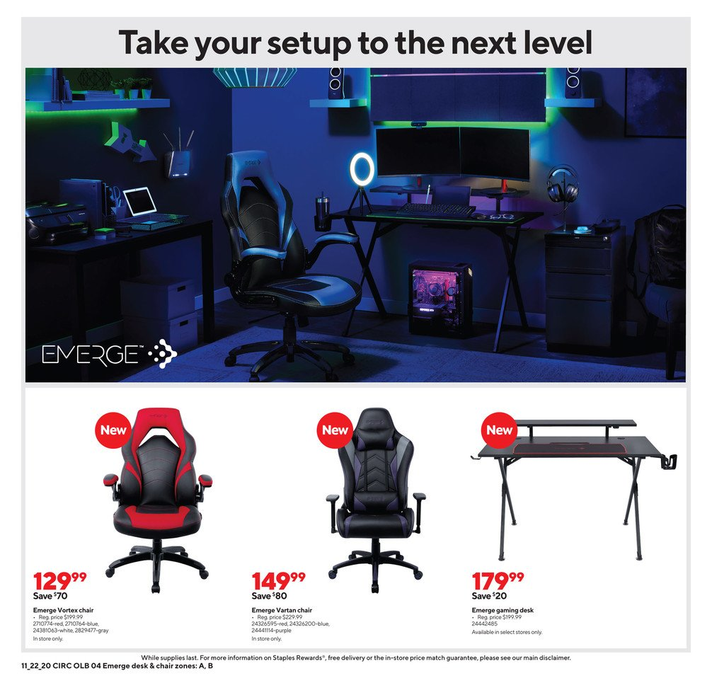 Staples Black Friday 2020 Page 13