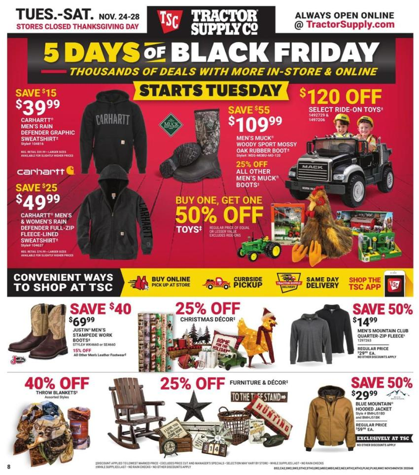 Tractor Supply Co. Black Friday 2020 Page 8