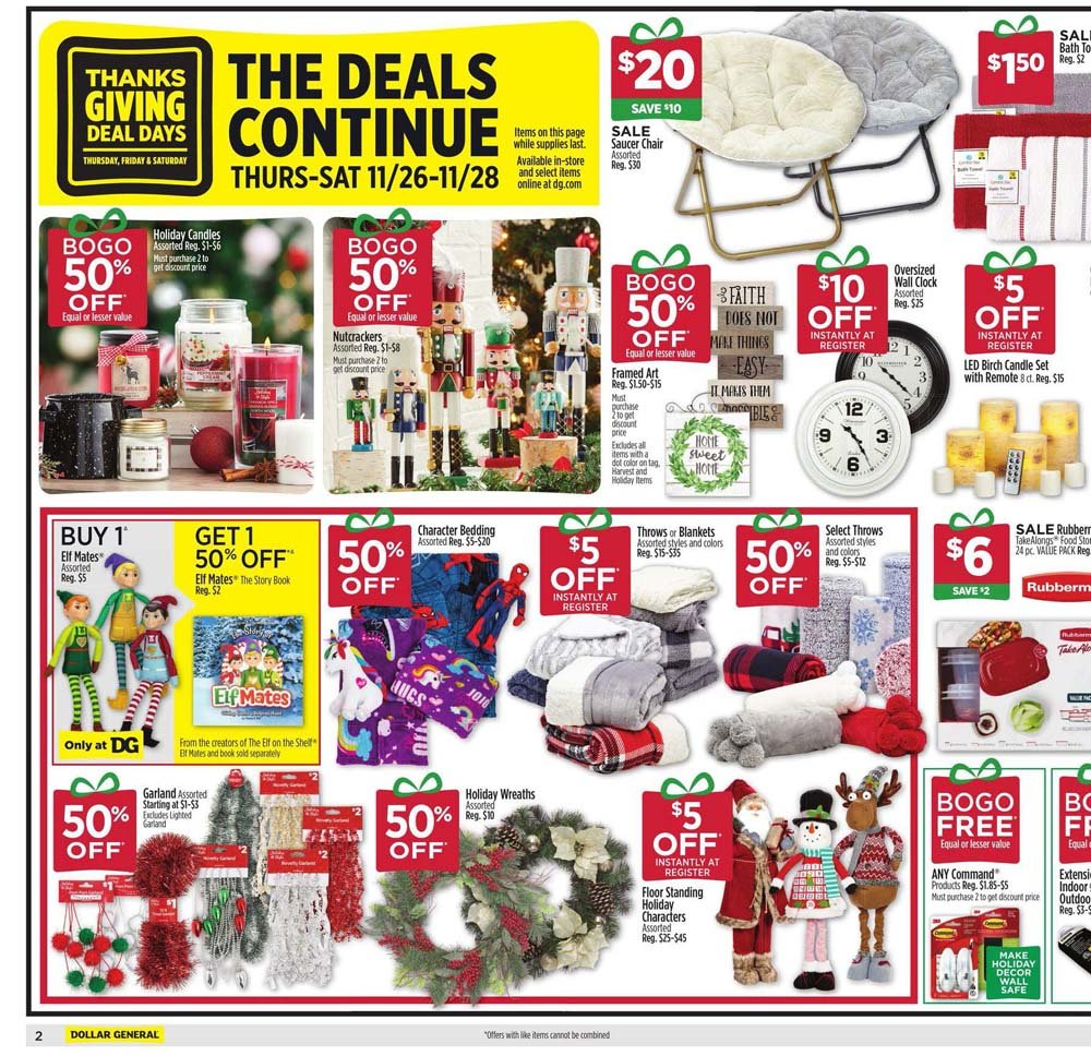 Dollar General Black Friday 2020 Page 2
