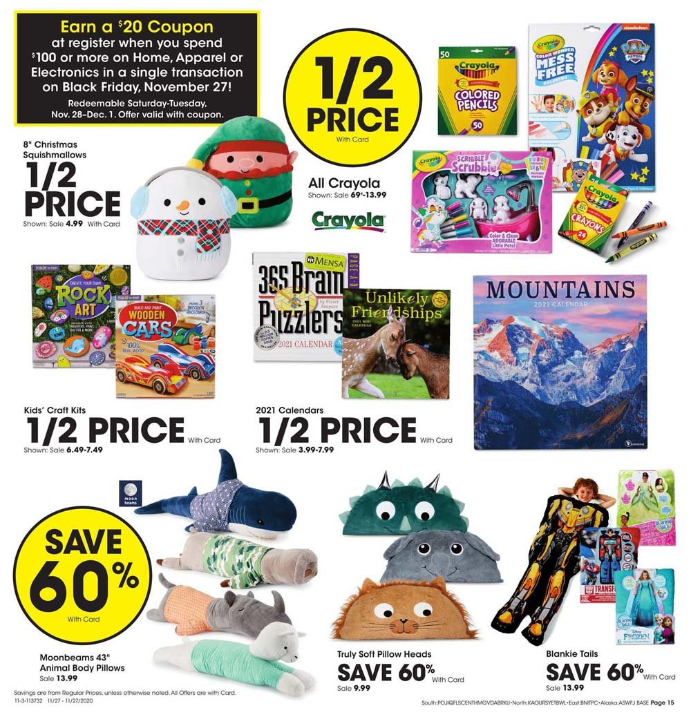 Fred Meyer Black Friday 2020 Page 15