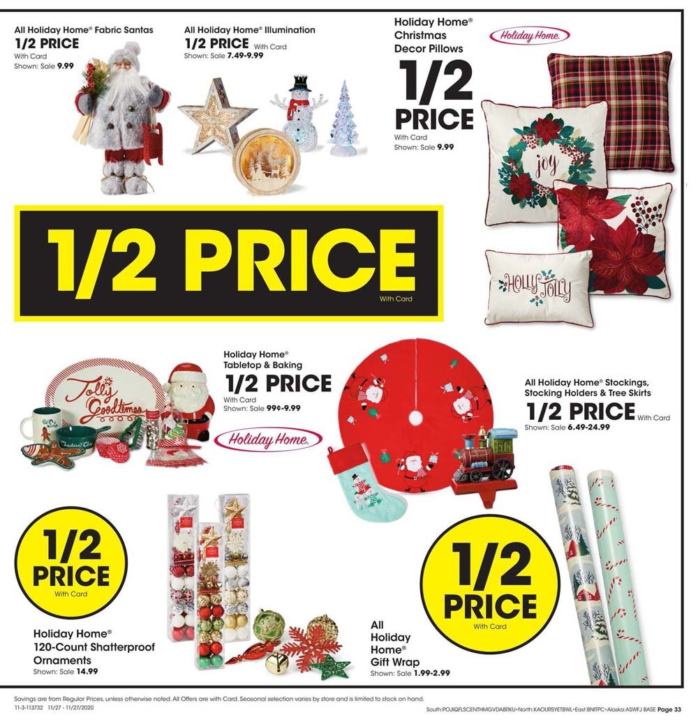 Fred Meyer Black Friday 2020 Page 33