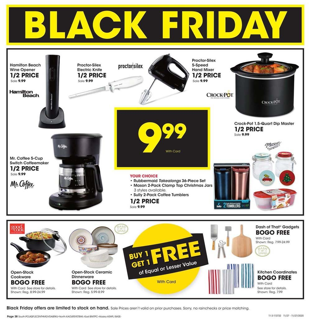 Fred Meyer Black Friday 2020 Page 38