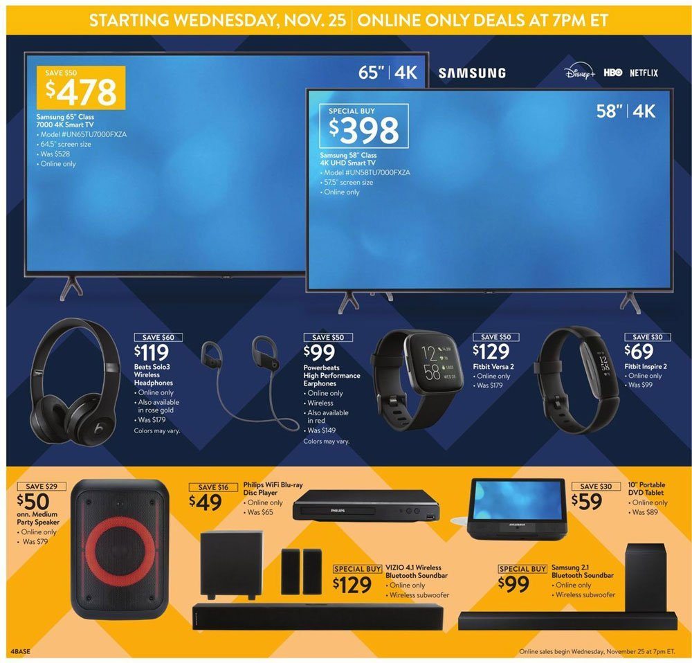 Walmart Black Friday 2020 Page 4