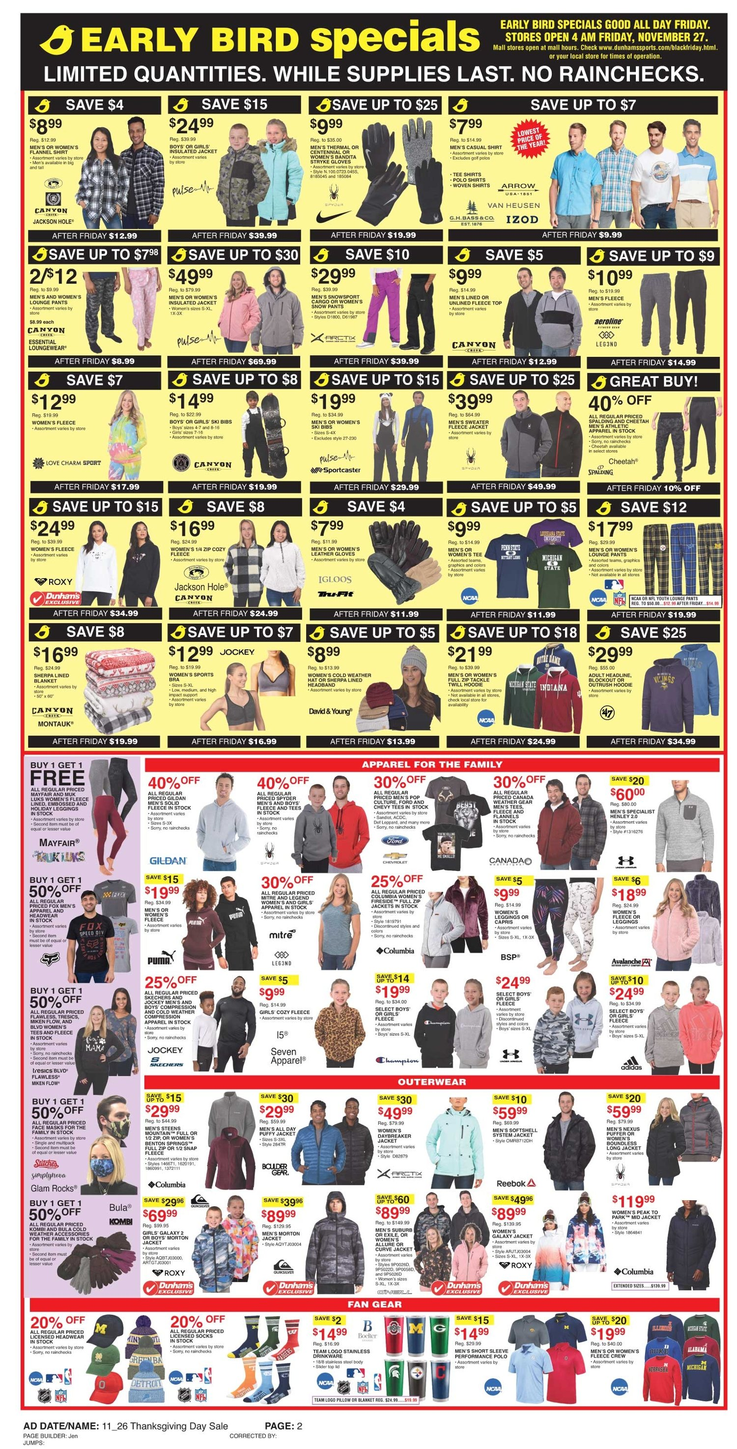 Dunham's Sports Black Friday 2020 Page 2