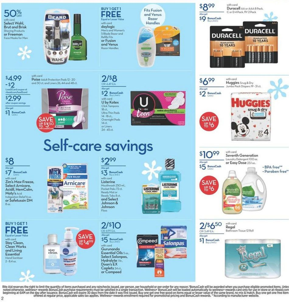 Rite Aid Black Friday 2020 Page 6