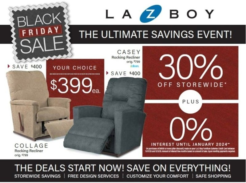 La-Z-Boy Black Friday 2020 Page 1